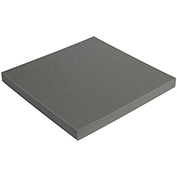 "Charcoal Soft Foam Sheets 1"" x 24"" x 24"" 12 Pack"