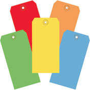 "Shipping Tags 4-3/4"" x 2-3/8"" Assorted Color - 1000 Pack"