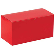 "Red Gift Boxes 12"" x 6"" x 6"" - 50 Pack"