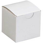 "White Gift Boxes 2"" x 2"" x 2"" - 200 Pack"