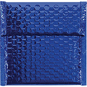 "Blue Glamour Bubble Mailer 7"" x 6-3/4"" - 72 Pack"
