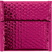 "Pink Glamour Bubble Mailer 7"" x 6-3/4"" - 72 Pack"