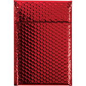 "Red Glamour Bubble Mailer 7-1/2"" x 11"" - 72 Pack"