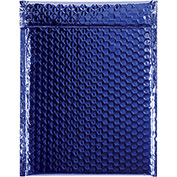 "Blue Glamour Bubble Mailer 9"" x 11-1/2"" - 100 Pack"