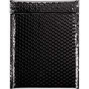 "Black Glamour Bubble Mailer 9"" x 11-1/2"" - 100 Pack"