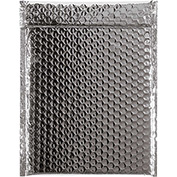 "Silver Glamour Bubble Mailer 9"" x 11-1/2"" - 100 Pack"