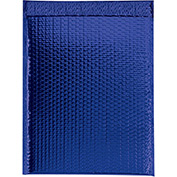 "Blue Glamour Bubble Mailer 13"" x 17-1/2"" - 100 Pack"