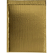 """Gold Glamour Bubble Mailer 13"""" x 17-1/2"""" - 100 Pack"""
