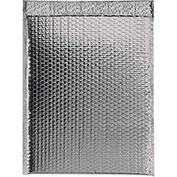 "Silver Glamour Bubble Mailer 13"" x 17-1/2"" - 100 Pack"