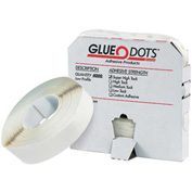 "1/2"" - Low Tack Glue Dots®, Low Profile - 4000 Dots Per Roll"