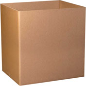 "Tripe Wall Gaylord Bottom 48"" x 40"" x 24"" 1100# TW/ECT-90 Kraft - 5 Pack"