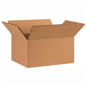 "Heavy Duty Double Wall Cardboard Corrugated Box 12"" x 9"" x 6"" 275 Lb. ECT-48 15 Pack"