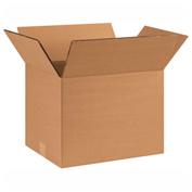 "Heavy Duty Double Wall Cardboard Corrugated Box 14"" x 10"" x 10"" 275 Lb. ECT-48 15 Pack"