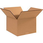 "Double Wall Corrugated Boxes 14"" x 12"" x 10"", 275 lb.Test/DW/ECT-48 Kraft - 15 Pack"