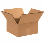 "Heavy Duty Double Wall Cardboard Corrugated Box 14"" x 14"" x 6"" 275 Lb. ECT-48 15 Pack"