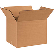 "Double Wall Corrugated Boxes 16"" x 10"" x 10"", 275 lb.Test/DW/ECT-48 Kraft - 15 Pack"