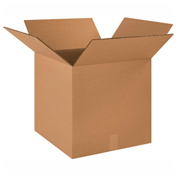 "Heavy Duty Double Wall Cardboard Corrugated Box 17"" x 17"" x 17"" 275 Lb. ECT-48 10 Pack"