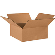 "Double Wall Corrugated Boxes 20"" x 20"" x 8"", 275 lb.Test/DW/ECT-48 Kraft - 10 Pack"