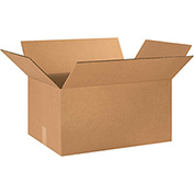 "Double Wall Corrugated Boxes 24"" x 16"" x 12"", 275 lb.Test/DW/ECT-48 Kraft - 10 Pack"