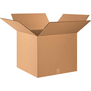 "Double Wall Corrugated Boxes 24"" x 24"" x 20"", 275 lb.Test/DW/ECT-48 Kraft - 10 Pack"