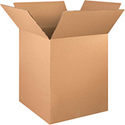 "Double Wall Boxes 24"" x 24"" x 30"", 275 lb.Test/DW/ECT-48 Kraft - 5 Pack"