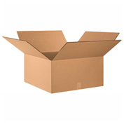 "Heavy Duty Double Wall Cardboard Corrugated Box 26"" x 26"" x 12"" 275 Lb. ECT-48 10 Pack"