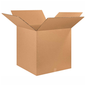 "Heavy Duty Double Wall Cardboard Corrugated Box 28"" x 28"" x 28"" 275 Lb. ECT-48 5 Pack"