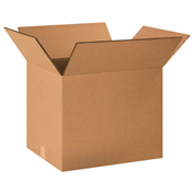 "Heavy Duty Double Wall Cardboard Corrugated Box 40"" x 30"" x 30"" 275 Lb. ECT-48 5 Pack"