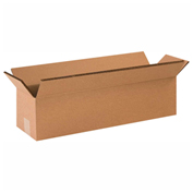 "Heavy Duty Double Wall Cardboard Corrugated Box 48"" x 12"" x 12"" 275 Lb. ECT-48 10 Pack"