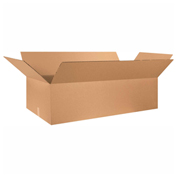 "Heavy Duty Double Wall Cardboard Corrugated Box 48"" x 24"" x 12"" 275 Lb. ECT-48 5 Pack"