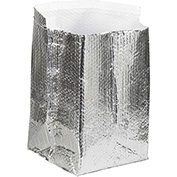 "Cool Shield Insulated Box Liners 10"" x 10"" x 10"" 25 Pack"