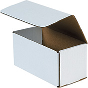 """Corrugated Mailers 11"""" x 5"""" x 5"""", 200 lb. Test/ECT-32-B White - 50 Pack"""
