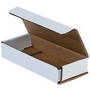 """Corrugated Mailers 11"""" x 8"""" x 2"""", 200 lb. Test/ECT-32-B White - 50 Pack"""