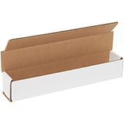 "Corrugated Mailers 12"" x 2"" x 2"", 200 lb. Test/ECT-32-B White - 50 Pack"