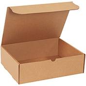 "Kraft Literature Mailer 13"" x 10"" x 4"" - 50 Pack"