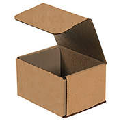 "Kraft Corrugated Mailers 5"" x 4"" x 3"" 200#/ECT-32-B 50 Pack"
