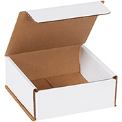 """Corrugated Mailer 5"""" x 5"""" x 2"""" 200lb. Test/ECT-32-B - 50 Pack"""