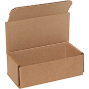 "Kraft Corrugated Mailer 6"" x 3"" x 2"" - 50 Pack"