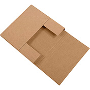 "Kraft Easy-Fold Mailers 7-1/2"" x 7-1/2"" x 2"" 50 Pack"