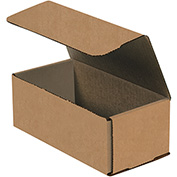 "Kraft Corrugated Mailers 8"" x 4"" x 3"" 200#/ECT-32-B 50 Pack"