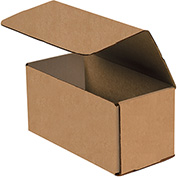 "Kraft Corrugated Mailers 8"" x 4"" x 4"" 200#/ECT-32-B 50 Pack"