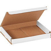 "White Corrugated Mailer 8"" x 6"" x 1"" - 50 Pack"