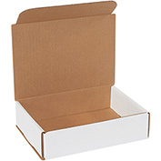 "White Corrugated Mailer 8"" x 6"" x 2"" - 50 Pack"