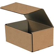 """Corrugated Mailers 8"""" x 6"""" x 2"""" 200lb. Test/ECT-32 Kraft 50 Pack"""