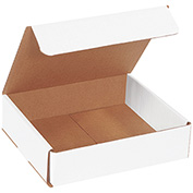 "White Corrugated Mailer 8"" x 7"" x 2"" - 50 Pack"