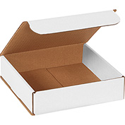 "White Corrugated Mailer 8"" x 8"" x 2"" - 50 Pack"