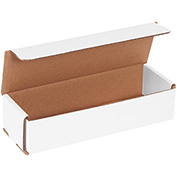 "White Corrugated Mailer 9"" x 3"" x 2"" - 50 Pack"