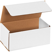 "White Corrugated Mailer 9"" x 5"" x 4"" - 50 Pack"