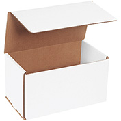 "White Corrugated Mailer 9"" x 5"" x 5"" - 50 Pack"