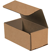 "Corrugated Mailers 9"" x 6"" x 3"" 200lb. Test/ECT-32 Kraft 50 Pack"